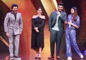 Happy faces of Anil Kapoor and Arjun Kapoor can easily be- India Tv