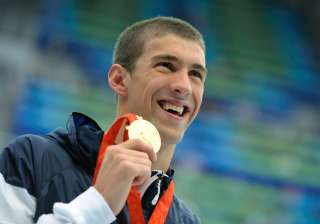 In the 2008 Beijing Olympics, Phelps won eight gold medals – the most by any athlete in a single Olympic games.