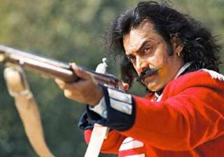 Mangal Pandey: The Rising His thick moustache and really long hair that he grew for the role of Indian soldier, Mangal Pandey, got him the accolades.