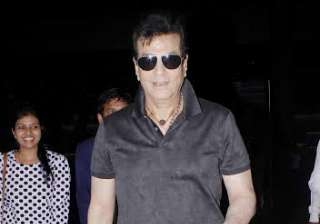 Veteran actor Jeetendra was also spotted in all black look. He was looking handsome as he posed for shutterbugs. The actor recently attended the book launch of Asha Parekh's autobiography The Hit Girl.