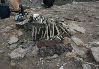 Lake of Skeletons Yes there's a lake called Roopkund Lake in Chamoli, Uttarakhand situated at an height of 16,500 feet. It is popularly known as 'skeleton lake' by the locals. Approximately, 600 skeletons were discovered here which dated back to the 9th century.