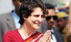 File pic - Priyanka Gandhi- India Tv