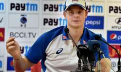Steve Smith addressing a press conference in Dharamshala - India Tv