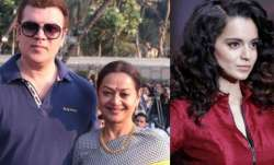 Aditya Pancholi and wife Zarina Wahab on Simran