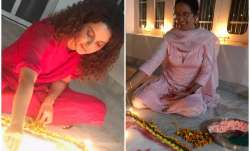 Kangana Ranaut Diwali celebration