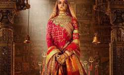 Deepika Padukone in and as Padmavati