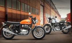 Royal Enfield unveils Interceptor, Continental GT 650 in