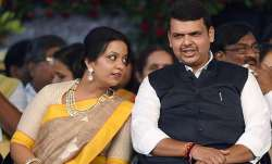 CM Fadnavis's wife trolled for promoting Christian event