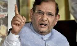 Sharad Yadav moves Delhi HC against disqualification from