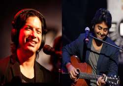Arijit Singh and Shaan