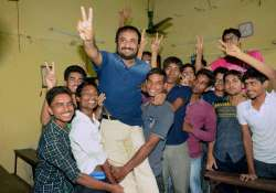Super 30 founder-director Anand Kumar with successful