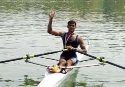 Rower Dattu Bhokanal bring cheer for India