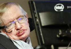 Renowned physicist Stephen Hawking