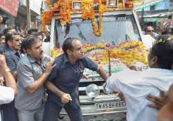 Cong supporters clash with SPG commandos during Rahul's