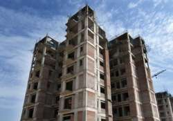 File pic of an underconstruction building in Noida.