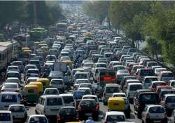 Cars on Indian roads