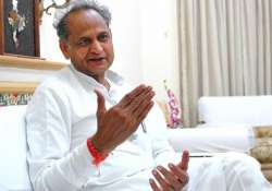 File pic of former Rajasthan Chief Minister Ashok Gehlot- India Tv