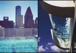 Can you dare to swim in this 'glass-bottomed' swim- India Tv