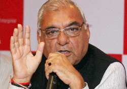 File pic of former Haryana chief minister Bhupinder Singh- India Tv