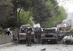 4 dead, 22 injured as suicide bomber attacks NATO convoy in