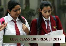 CBSE 10th Result 2017 Declared