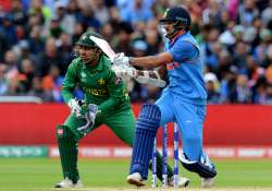 Dhawan plays a shot during ICC Champions Trophy against- India Tv