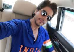 Shah Rukh Khan posted this picture during the India vs