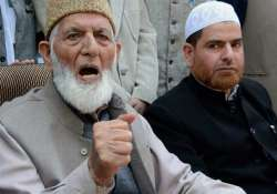 NIA questions Hurriyat chief Geelani's sons Naeem and