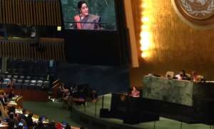 Sushma Swaraj at UNGA