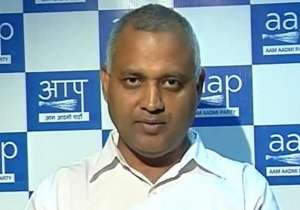 AAP MLA Somnath Bharti - India Tv
