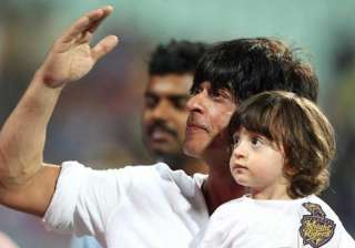 Shah Rukh Khan, AbRam - India TV