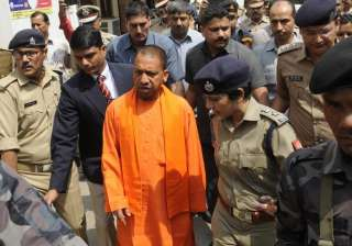 Yogi Adityanath, VVIP Security, Z Security, UP CM - India TV