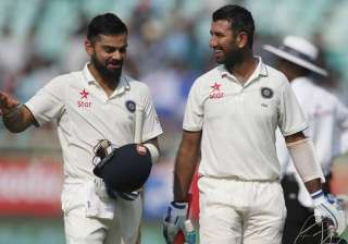 Cheteshwar Pujara, Virat Kohli, Donald Trump - India TV