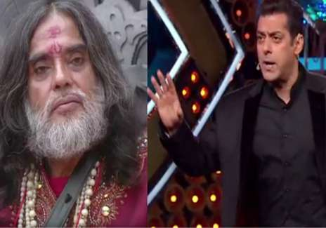 Salman loses cool on show after Om Swami's lewd comments- India Tv