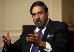 anand sharma defends cotton exports ban to speak to pawar