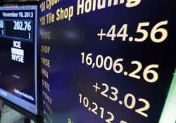 dow jones average closes above 16 000 for the first time