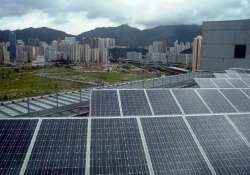 about 63 solar panel are imported from china says government