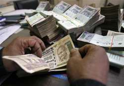 rupee slumps to below 45 level after 10 weeks