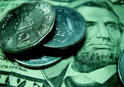 rupee falls to 1 month low