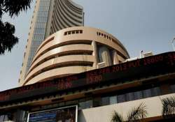 sensex slips into negative zone on profit booking