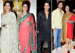 hrithik suzanne kajol attend zarine khan s iftar bash view