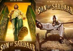 movie review son of sardar jokes fall flat may cause