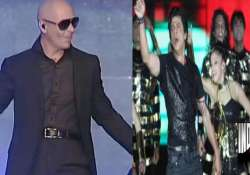 srk pitbull showcase diverse culture at ipl opening ceremony
