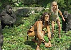 tarzan 3d in indian cities this april