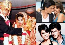 shah rukh khan and gauri khan s love story see rare pics