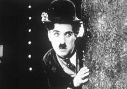 charlie chaplin being animated for tv