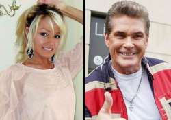 david hasselhoff dating welsh blonde half his age