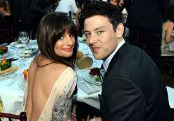 lea michele sings for monteith s tribute
