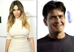 charlie sheen apologises to kim says he is an idiot