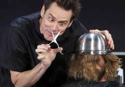 jim carrey shaves fan s head on jimmy kimmel live
